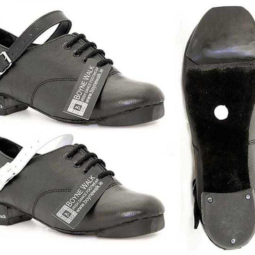 Hi Density Tip. Hi Density Heel. Black or White Straps