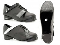 Hi Density Heel. Fibreglass Tip. Black or White Straps.