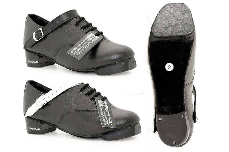 Hi Density Heel. Fibreglass Tip. Black or White Straps.