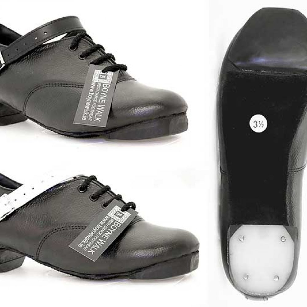 Hi Density Tip. Tufnol Bubble Heel. Black or White Straps.