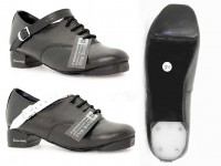 Hi Density Tip. Tufnol Bubble Heel. Black or White Straps.